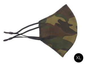 Face Mask, Camouflage, Size XL