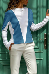 Streetwear Color Block Top