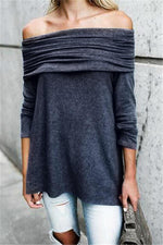 Load image into Gallery viewer, Back To Cool Off Shoulder Sweatshirt