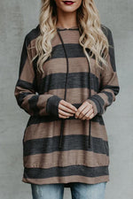 Load image into Gallery viewer, Branson Striped Pocketed Hoodie