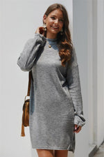 Load image into Gallery viewer, Keep You Happy Sweater Dress
