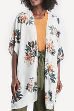 Load image into Gallery viewer, Printed Cardigan Short Sleeve Jacket