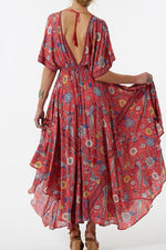 Load image into Gallery viewer, Floral Printed Maxi Dress
