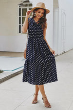 Load image into Gallery viewer, Dot Ties Dress