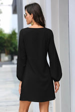 Load image into Gallery viewer, Waist Long Sleeve Dress