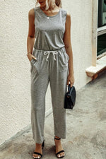 Load image into Gallery viewer, Nice Shape Plain Jumpsuit