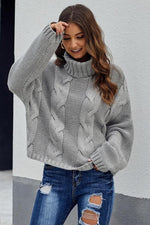 Load image into Gallery viewer, Plain Highneck Sweater