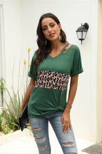 Load image into Gallery viewer, Beautiful Melody Leopard T-Shirt