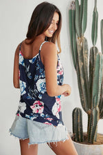 Load image into Gallery viewer, Blue Printed Camisole
