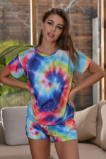 Load image into Gallery viewer, Tie Dye Casual Home Suit