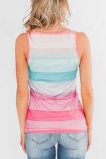 Load image into Gallery viewer, Colorful Summer Striped Vest