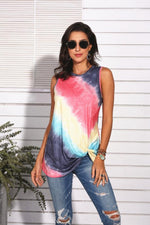 Load image into Gallery viewer, Tie Dye Gradient Sleeveless Vest