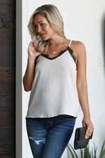 Load image into Gallery viewer, V-Neck Lace Camisole