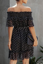 Load image into Gallery viewer, Happy Everyday Dot Dress