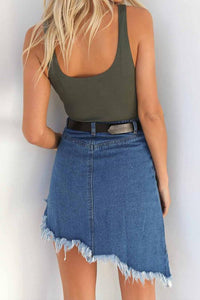 Irregular Fishtail Skirt