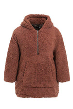 Load image into Gallery viewer, Faux Lambswool Thick Hooded Teddy Coat