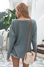 Load image into Gallery viewer, V-Neck Cardigan Jacket