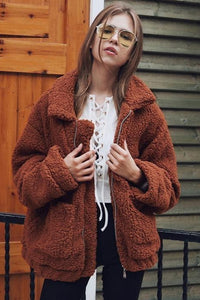 Fleece Faux Jacket