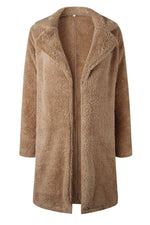 Load image into Gallery viewer, Feeling Of Warmth Faux Fur Longline Coat