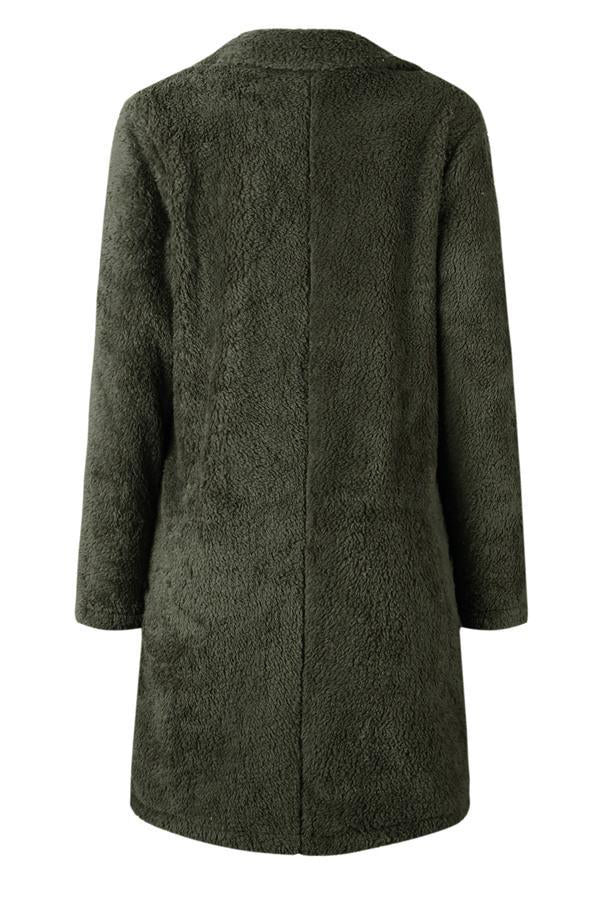 Feeling Of Warmth Faux Fur Longline Coat