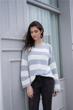 Load image into Gallery viewer, Loose Round Neck Sweater