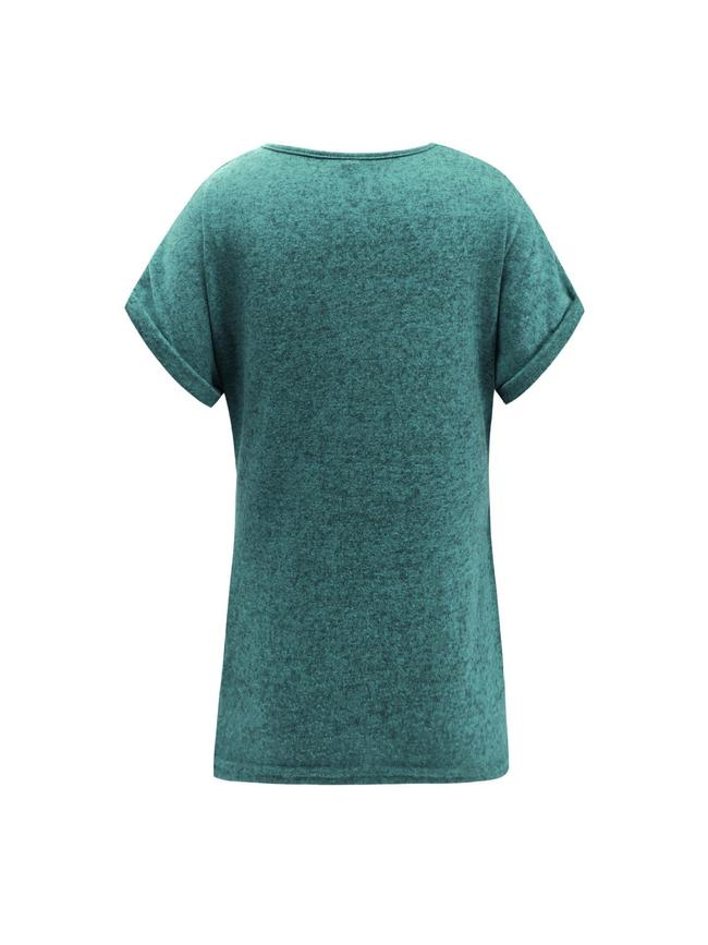 Solid Color Knot Tee