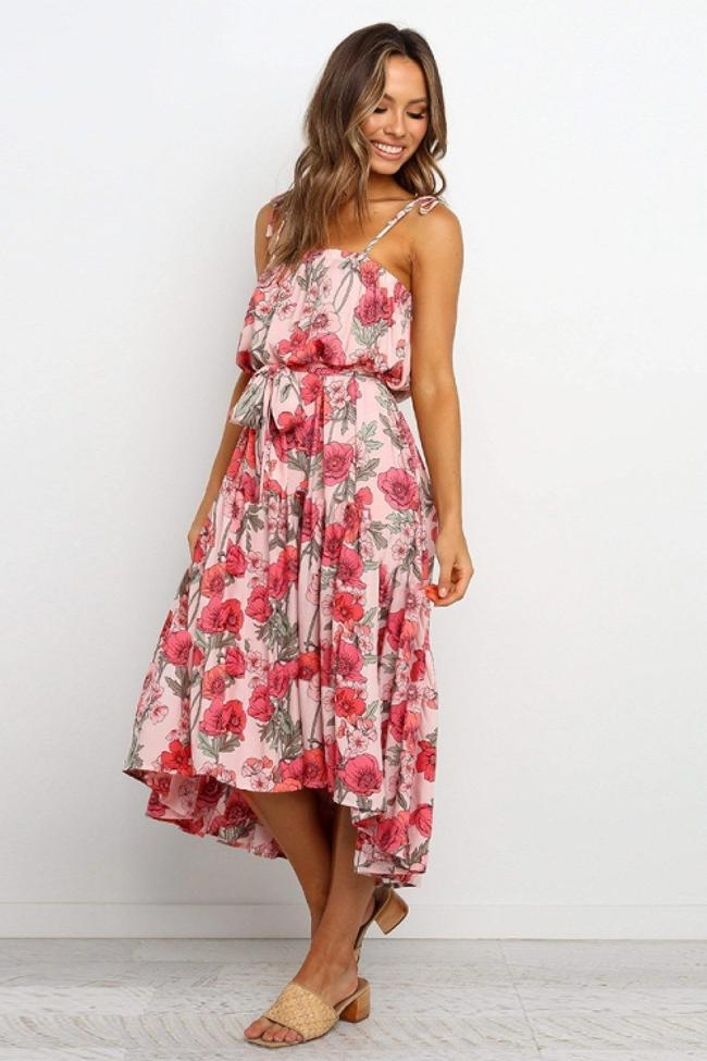 Just The Beginning Floral Dress