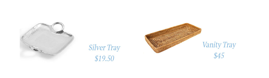 bedside table trays