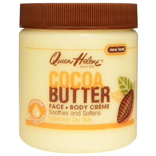 Queen Helene Jar Cocoa Butter Face & Body Creme 4.8 oz