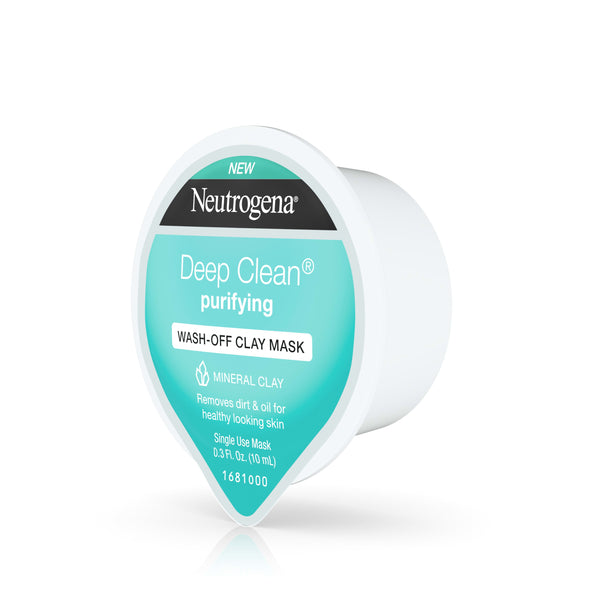 Neutrogena Deep Clean Purify Clay Mask 0.3 oz Pod