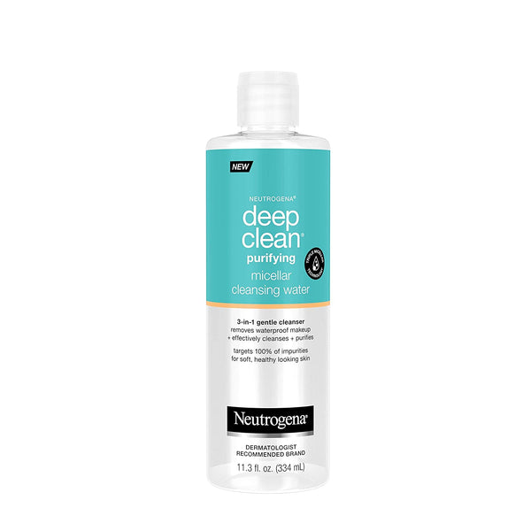 Neutrogena Deep Clean Purify Micellar Cleansing Water 11.3 oz