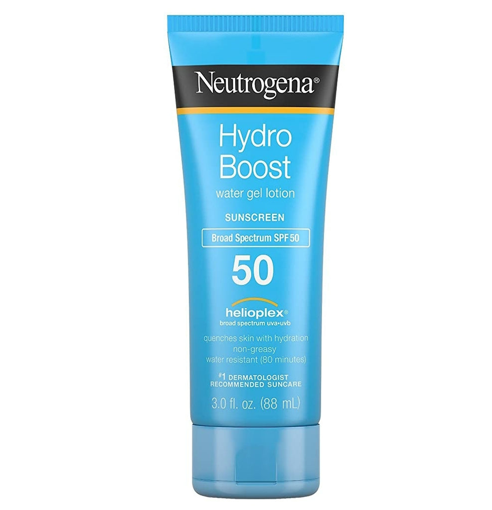 Neutrogena Hydro Boost Spf#50 Water Gel Sunscreen Lotion 3 oz