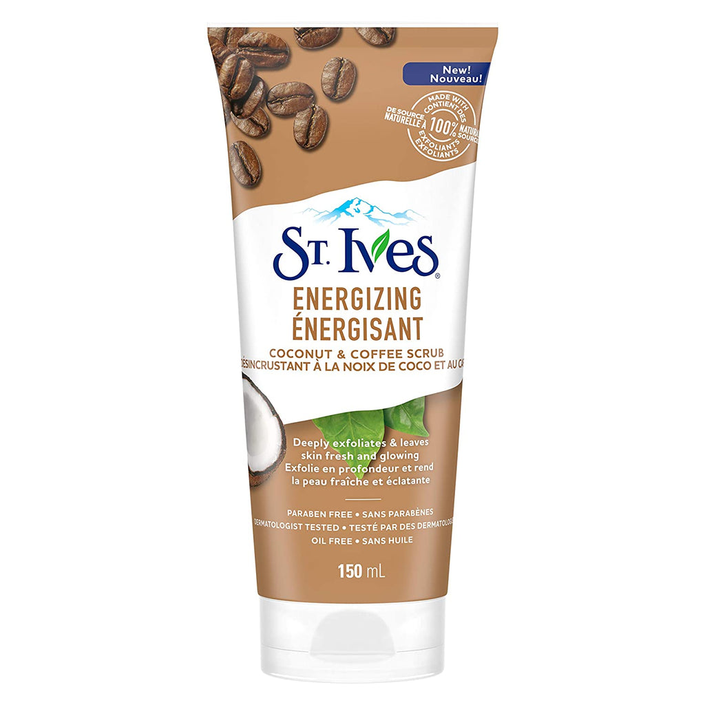 St Ives Scrub Coconut & Coffee Energizing 6 oz