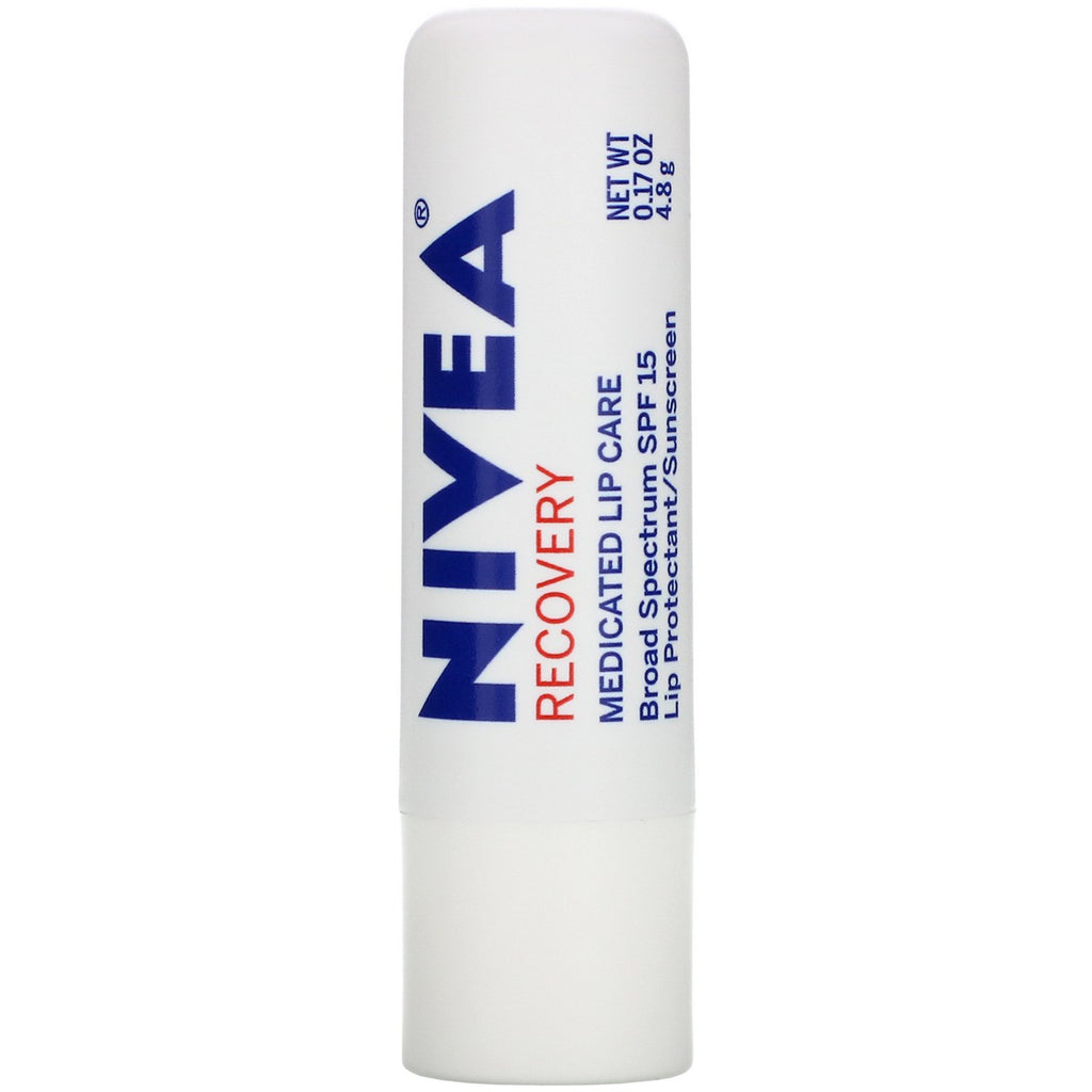 Nivea Lip Care Recovery Spf#15 0.17 oz