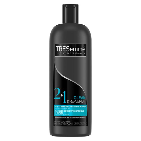 Tresemme Shampoo + Conditioner Cleanse & Replenish 2-N-1 28 oz