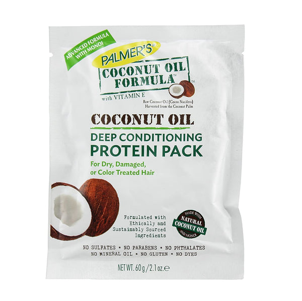 Palmers Coconut Oil Protein Pack Conditioner 2.1 oz