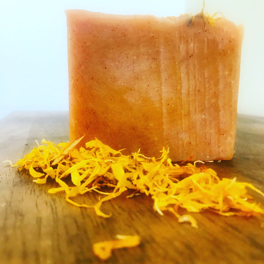 Turmeric, Patchouli and Calendula Soap
