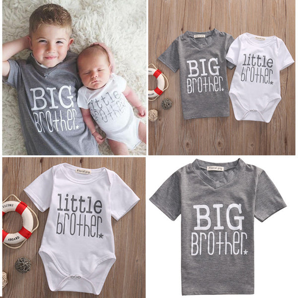 Litter Brother/Big Brother Matching Outfit