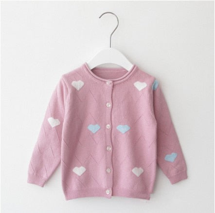 Baby Girls Spring Cotton Sweaters