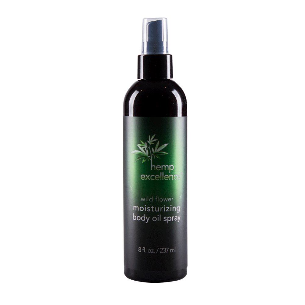 Hemp Excellence Moisturizing Body Oil Spray