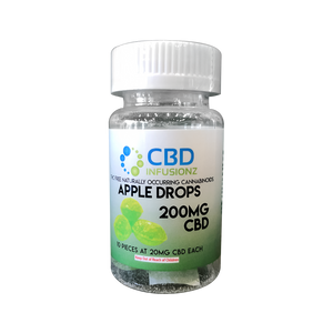 CBD Infusionz Sour Apple Drops