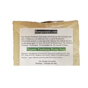 Rawganique Organic Hemp Soap Bar
