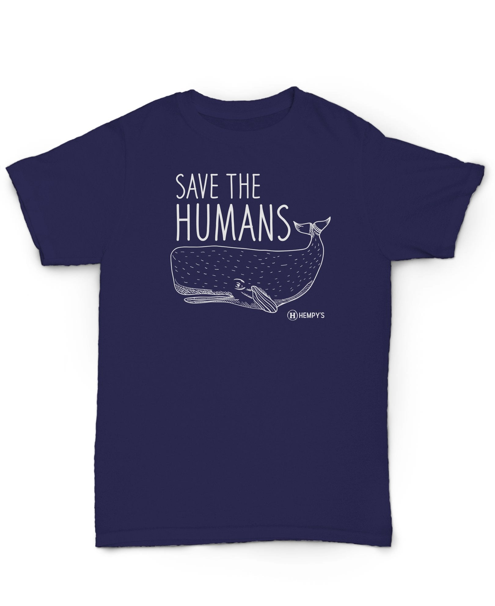 Hempy's Hemp Shirt Save The Humans