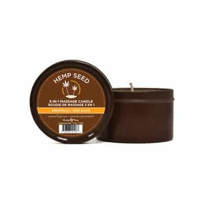Hemp Seed Massage Candle