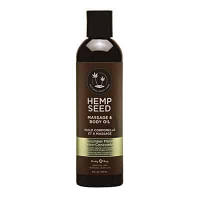 Hemp Seed Massage Oil 8oz