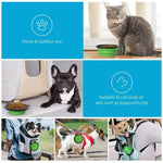 Load image into Gallery viewer, 2 in 1 Bottle Pet Feeder / Water Bottle Collapsible Folding Travel Bowl