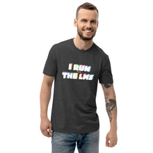 Load image into Gallery viewer, 'I Run the LMS'  Unisex recycled t-shirt