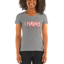 Load image into Gallery viewer, 'I Survived the Compliance Training' Ladies' short sleeve t-shirt