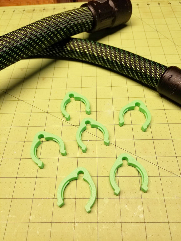Vacuum and Power Cord Clips for Festool (Set of 6)