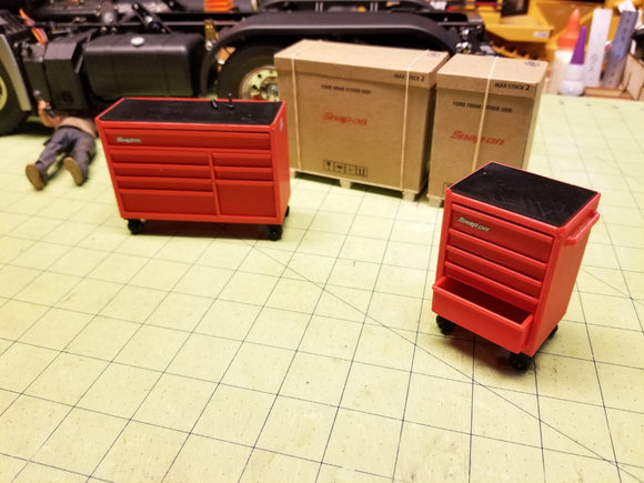 Miniature Tool Boxes at 1:14 Scale